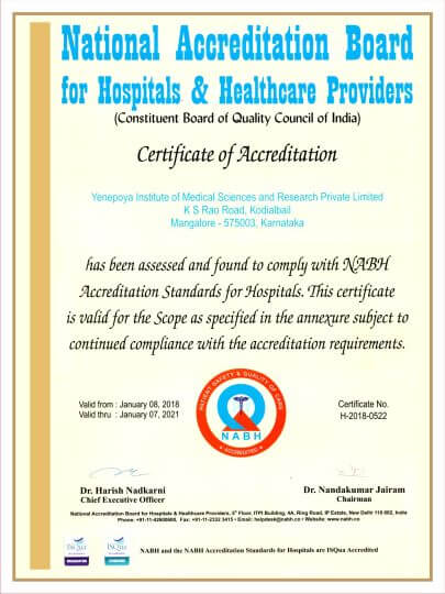 National Accreditation Board Certificates