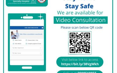 Online Doctor Video Consultation to ensure your safety…